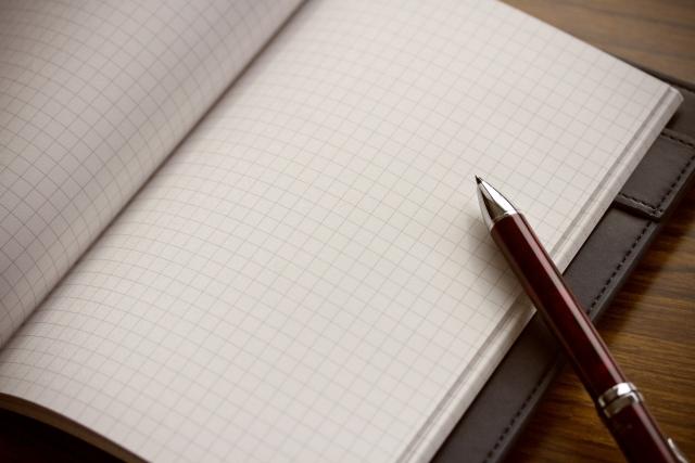 手書き家計簿